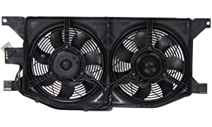 A/C Condenser Fan Assembly - Cooling Direct For/Fit MB3115112 98-05 Mercedes-Benz M-Class ML320/350/430