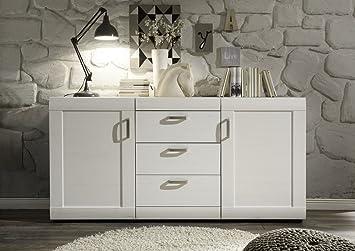 Beautiful credenza bianca moderna photos acrylicgiftware - Credenze basse ikea ...