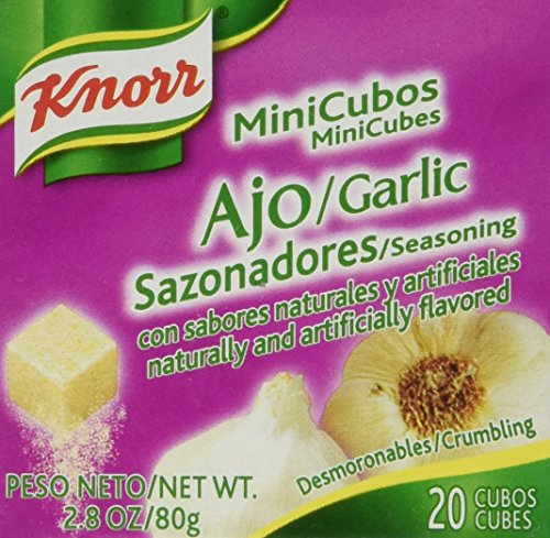 Knorr Garlic Mini 20 Cubes