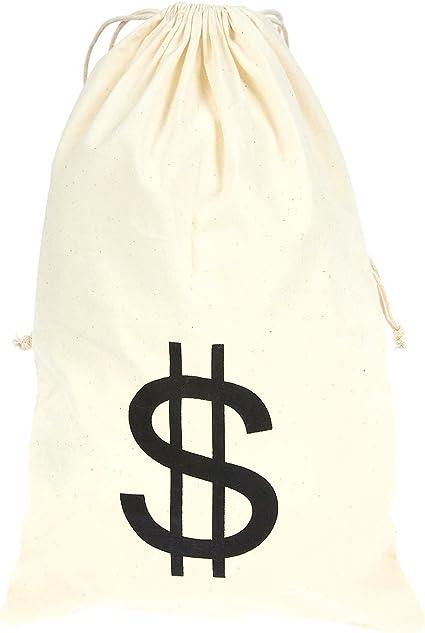 Drawstring loot bag /'$/' Dollar Swag Bag
