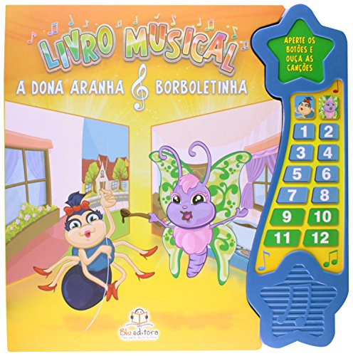 A Dona Aranha e Borboletinha - Livro Musical