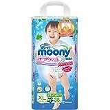 尤妮佳(Moony)成长裤拉拉裤 加大号XL38片男宝宝 (12kg以上) (官方进口)(产品升级中,新老包装随机发货)