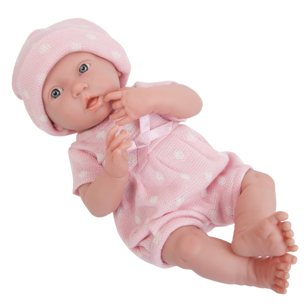 Pink JC Toys 18052 La Newborn Baby Doll, bluee Star, 15