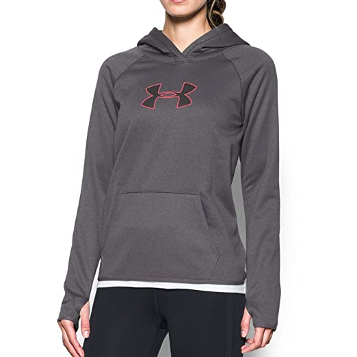 6b652ec06 Amazon.com: Under Armour Women Storm New UA Logo Hoodie: Clothing