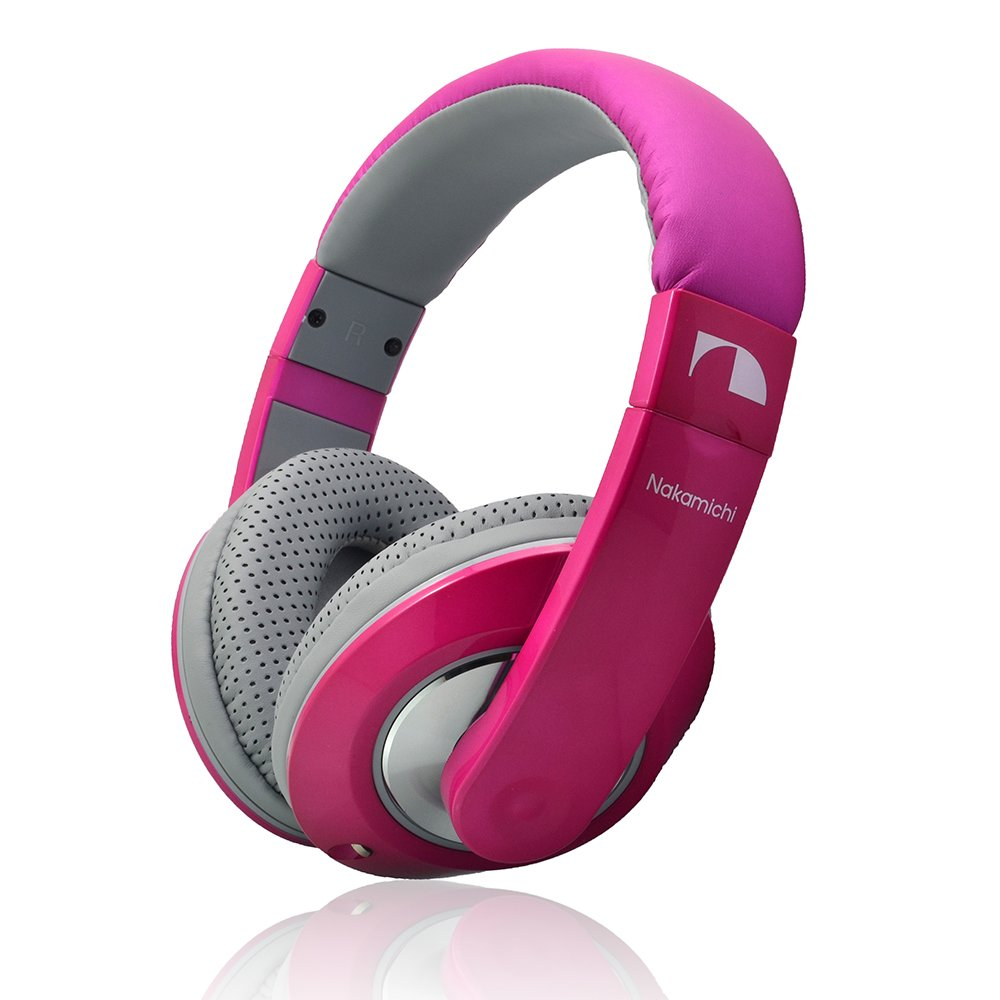 Nakamichi Nk780m Metallic Edition Over The Ear Fashion Speaker Diagram And Parts List For Audioequipmentparts Headphones Pink Home Audio Theater