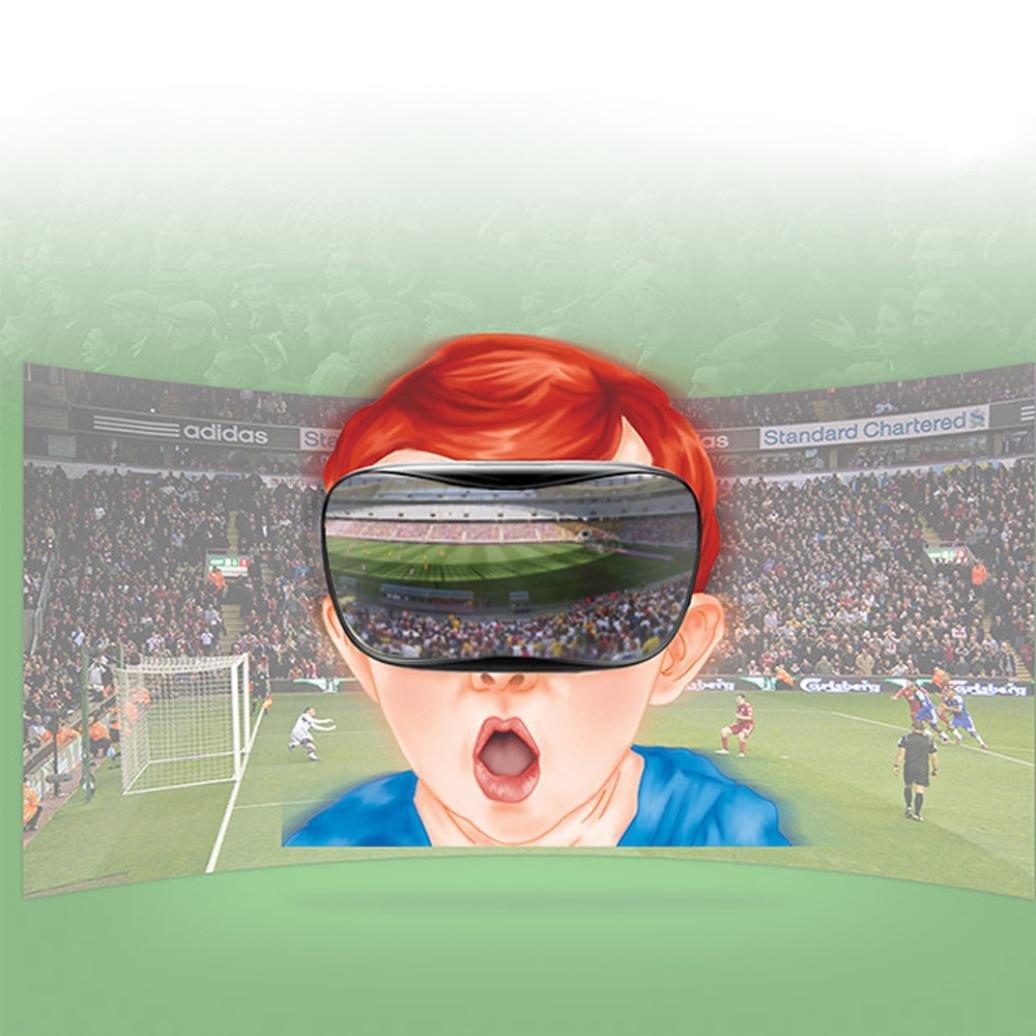 Coper 1080P HD Virtual Reality 3D Glasses Octa-Core Android 4.4 2+8GB Headset Box (Black) by Coper (Image #4)