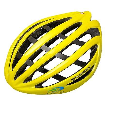 Lmzyan Nuevo enfriamiento abajo / aluminio + esqueleto de fibra de casco ligero, casco de bicicleta de montaña una formación de alto rendimiento esqueleto ...