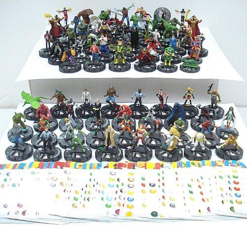 75 Heroclix Assorted Figures by WizKids