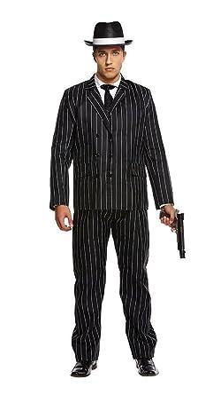 Amazon.com: Disfraz de Gangster Bugsy Malone para adulto de ...