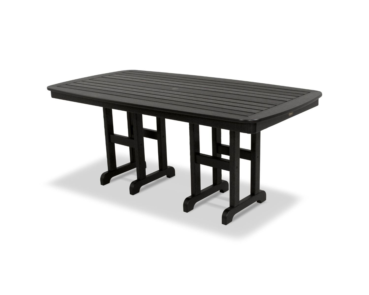 Amazon com trex outdoor furniture yacht club patio dining table garden outdoor
