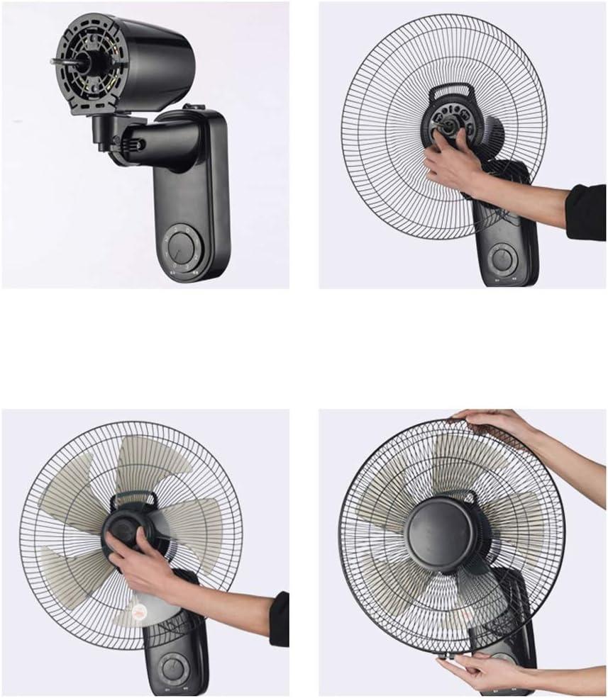 CYT wandgemonteerde ventilator oscillerende roterende afstandsbediening timer functie elektrische koeling voor de zomer in huis 16 inch mechanisch. ITljfoVA