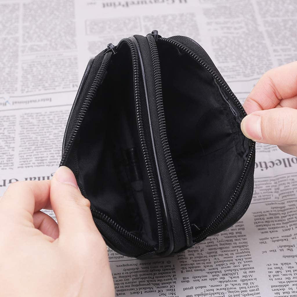 SHUIXIN Mini porte-monnaie pour femme en cuir v/éritable avec fermeture /Éclair