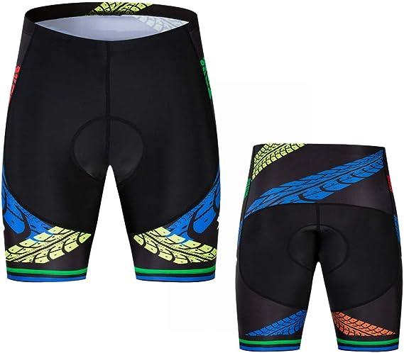 Pantalones cortos de ciclismo para hombre acolchados para montar ...