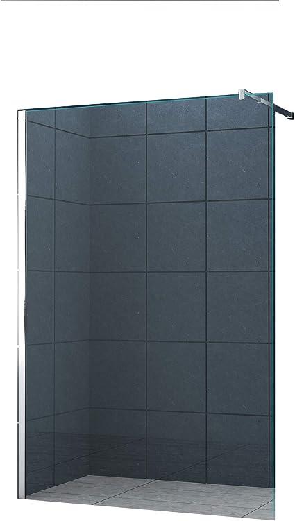 10 mm Mampara de ducha Düsseldorf 160 x 200 cm / Walk-In Cabina de ...