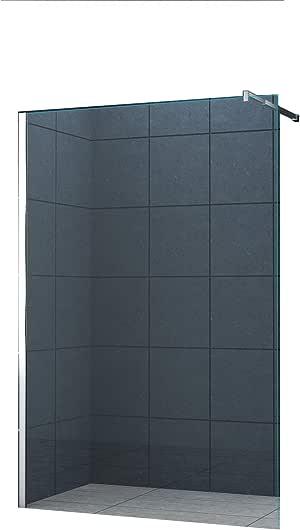10 mm Mampara de ducha Düsseldorf 150 x 200 cm / Walk-In Cabina de ...