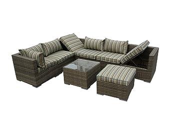 Nwn Combinación de Mimbre Muebles de Invernadero Esquina ...