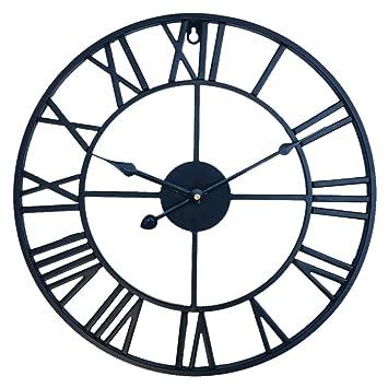 Metal Grande Cocinas Xxl Marco Vintage Dormitorios 60cm Ldb Silencioso Oficinas Gigante Pared Shop Reloj Para De Yymg6bI7fv