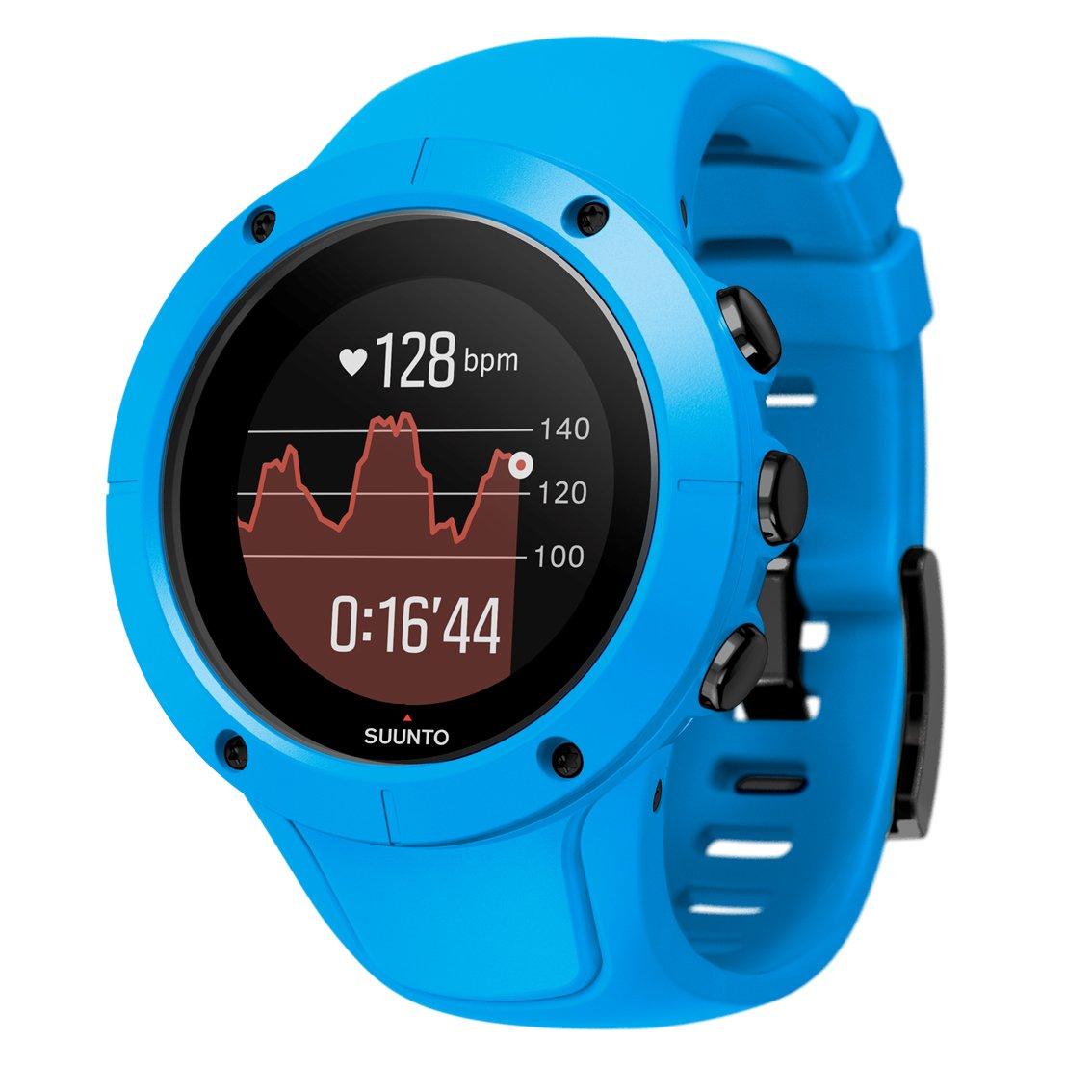 SUUNTO SPARTAN TRAINER WRIST HR (スント スパルタン トレーナー リストHR) ランニングウォッチ GPS 防水 心拍計 [日本正規品] B073P7HJ53 ブルー ブルー
