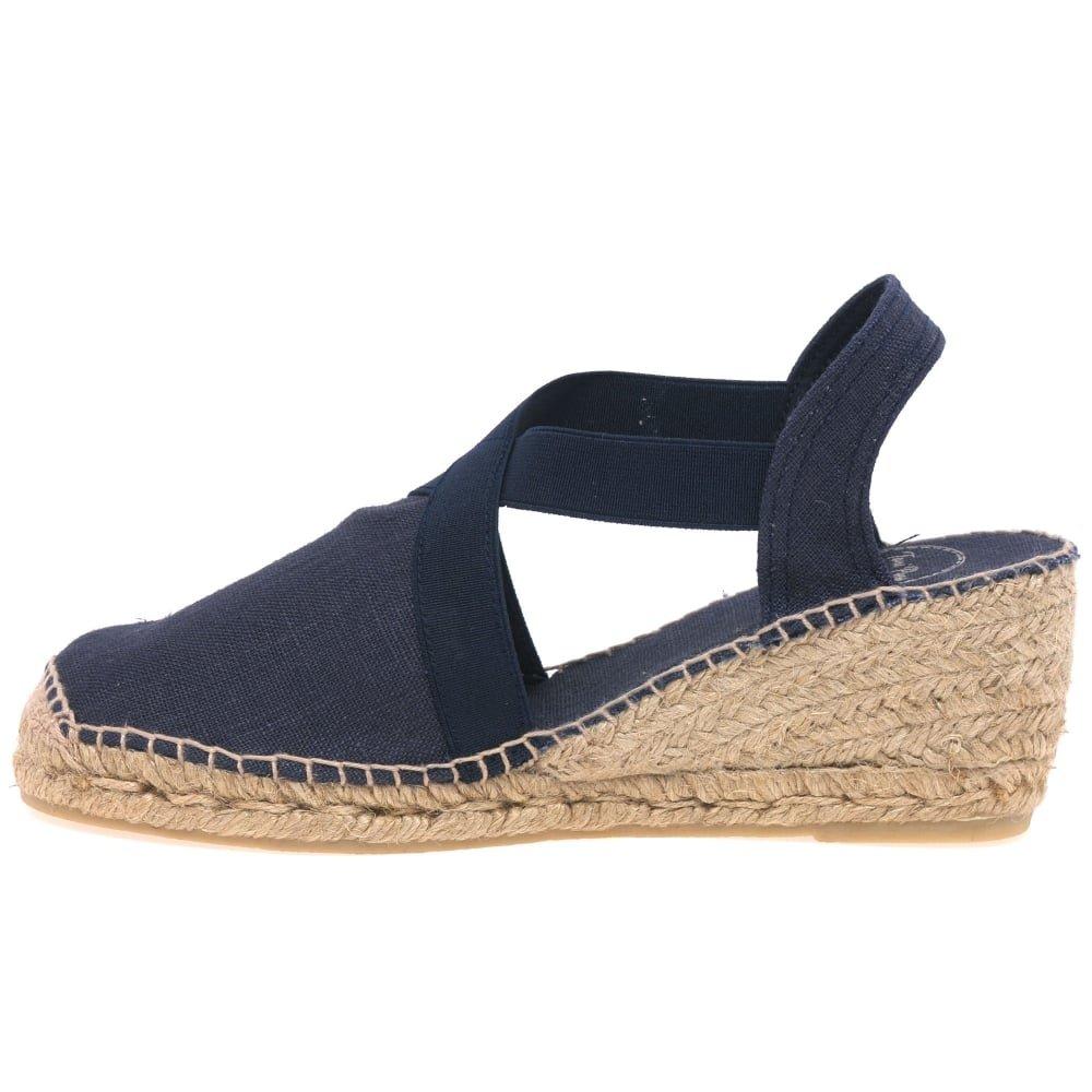 TONI PONS TER Womens Cuña Alpargatas de Tacón: Amazon.es: Zapatos y complementos