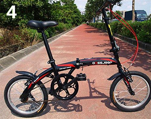 16インチ 折りたたみ自転車 折畳自転車 おりたたみ自転車 MTB おりたたみ自転車W345 B00QA15G16 ブラック ブラック