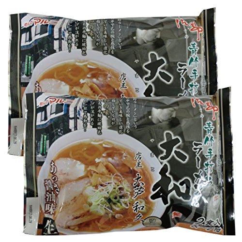 명점감수 토치기 사노 라면 (다이와)야마토 깨끗하게(산뜻하게) 간장 맛×2 포