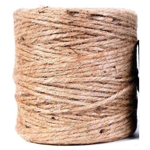 303  Jute 3 Ply Light Twine, 200-Feet, Natural ()