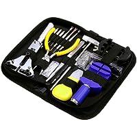 Zacro 151PCS orologio kit di riparazione professionale Spring Bar Tool set, Watch Band Link pin Tool set con custodia da trasporto