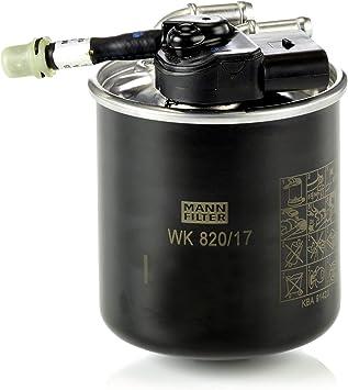 Original Mann Filter Kraftstofffilter Wk 820 17 Für Pkw Und Nutzfahrzeuge Auto