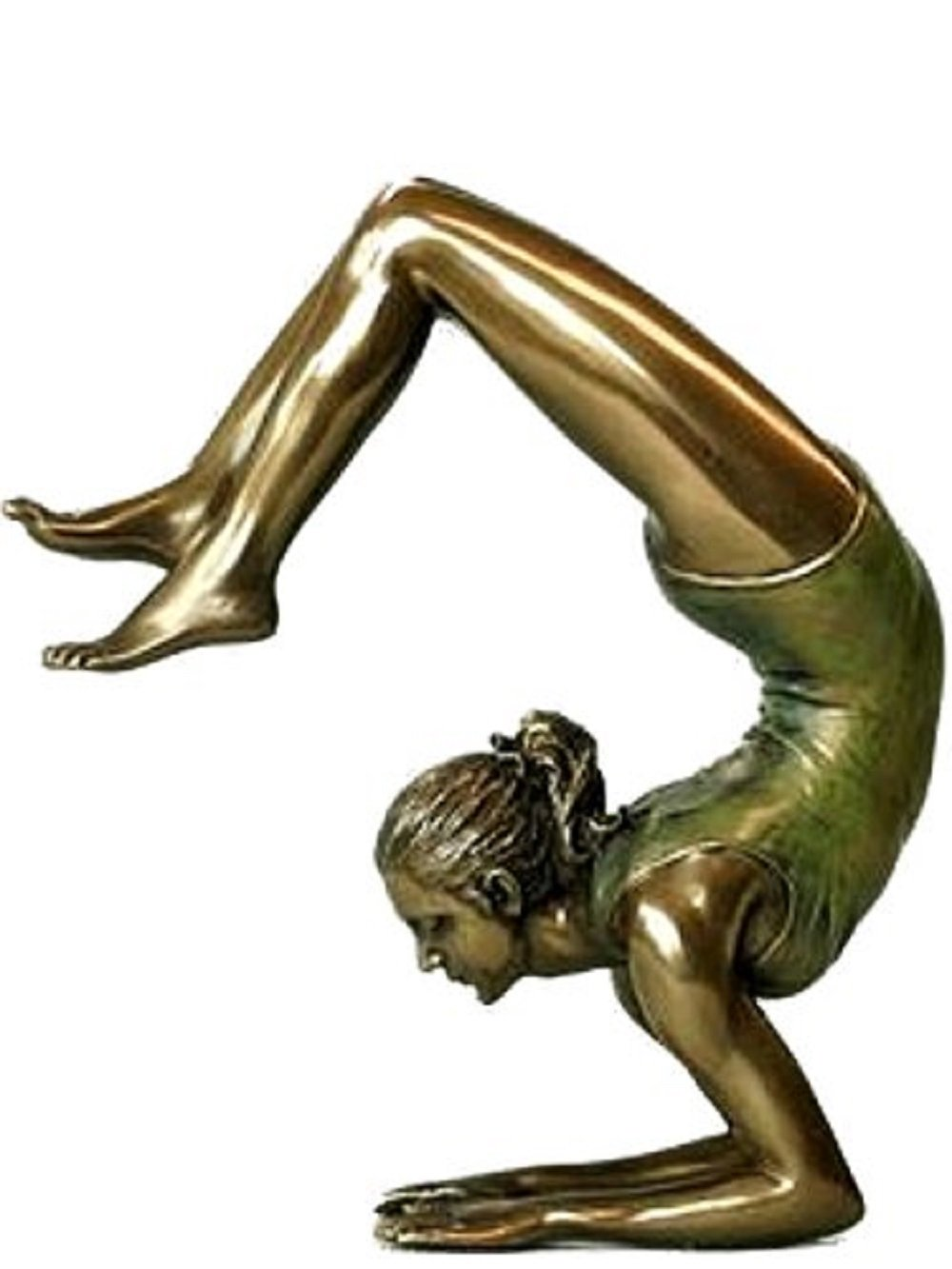 Body Talk Bronze Art Yoga Pose Sculpture (76115)