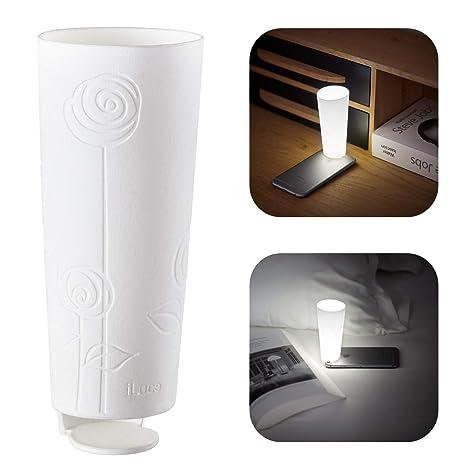 iGoods I iLuce [Lámpara de mesa sin cable] Compatible con iPhone I ...