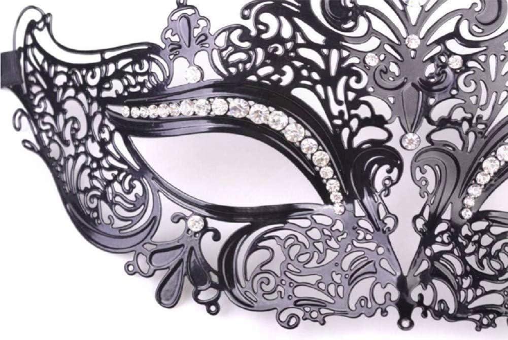 Metallo Maschera Stile per Carnevale Halloween Party Masquerade Maschera Veneziana