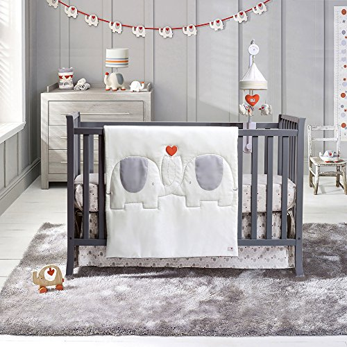Natures Purest My First Friend 4 Piece Organic Cotton Baby Crib Bedding Set