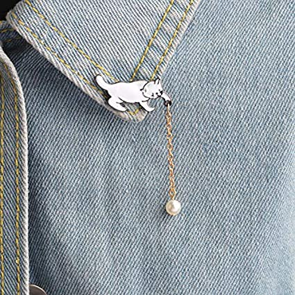 Home & Garden Apparel Sewing & Fabric 1 Pcs Cartoon Colorful Animal Metal Badge Brooch Button Pins Denim Jacket Pin Jewelry Decoration Badge For Clothes Lapel Pins