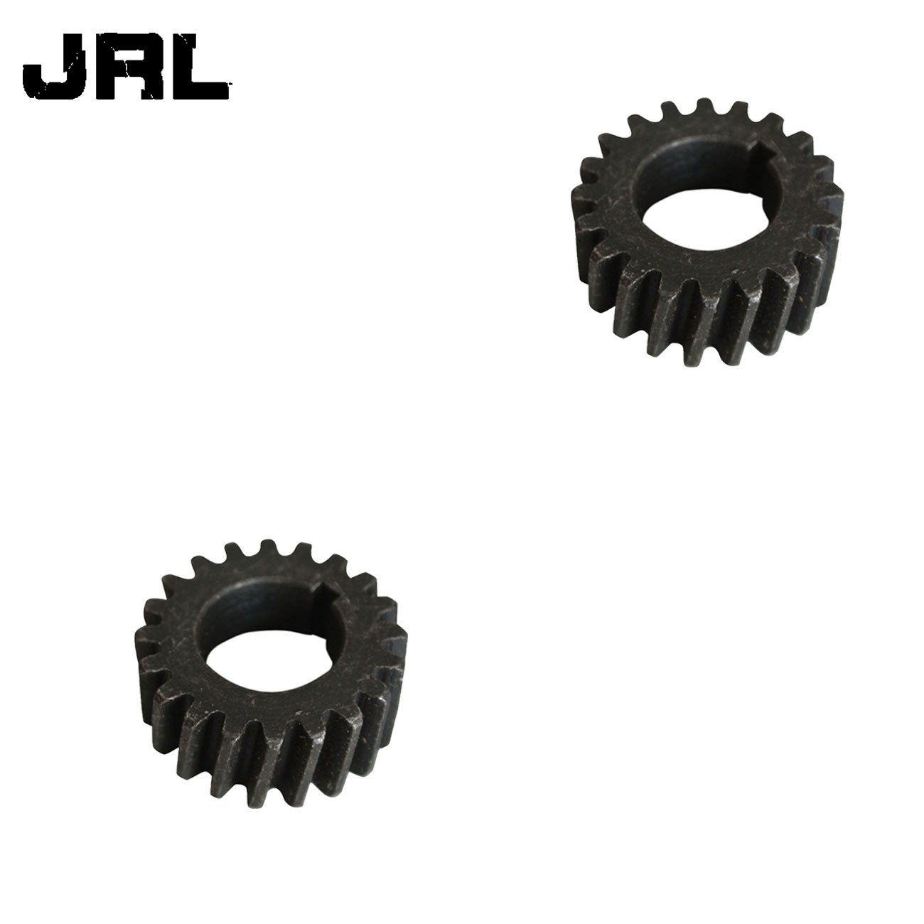JRL 2pcs Push Bike Gear Flywheel Bevel Pinion Fits 66cc 80cc Motorized Bicycle