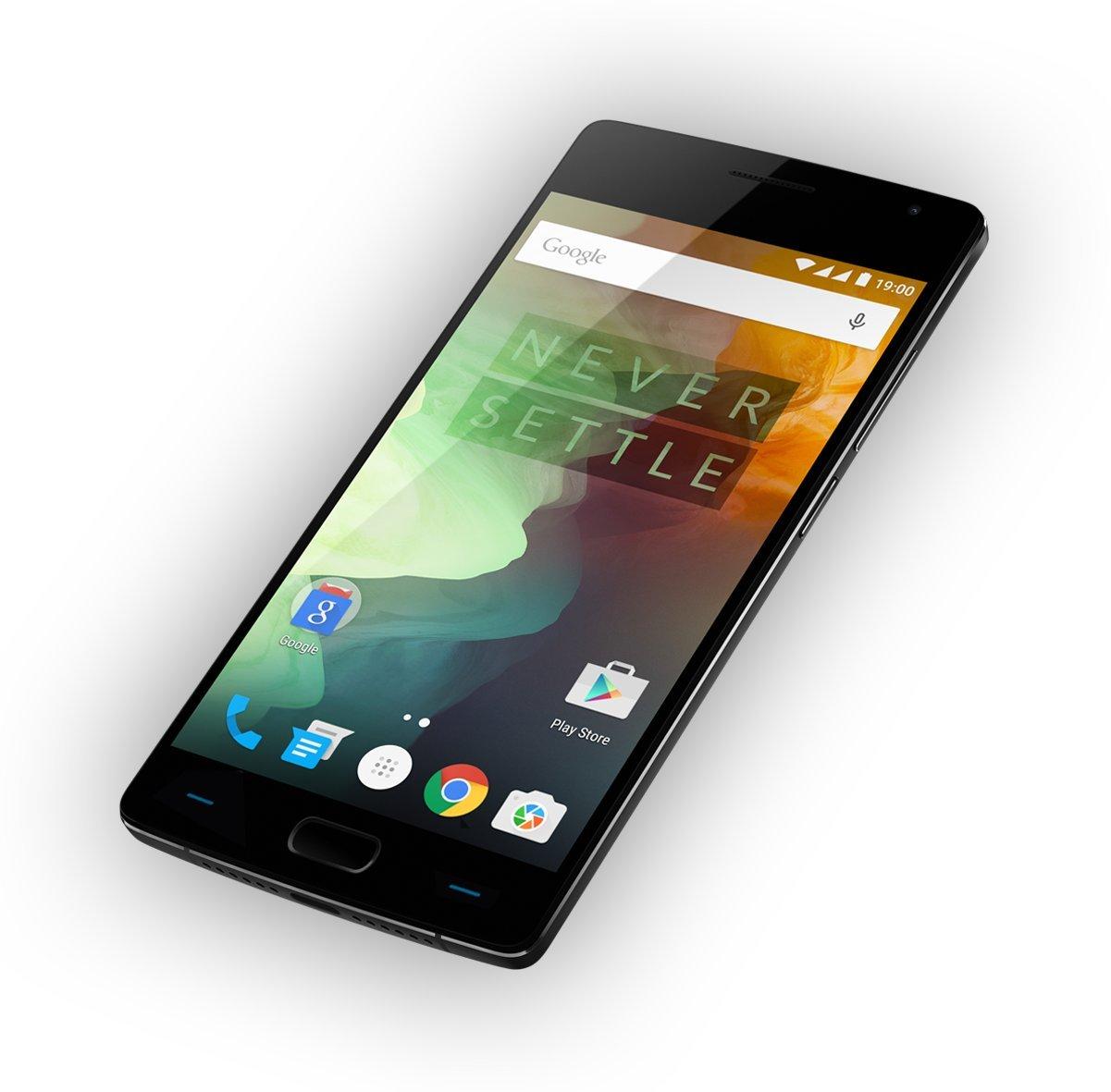 Oneplus 2 TWO SandStone Black 64 GB 4Gb Ram LTE OxygenOS Dual Sim EU 24  Month Warranty + UK Plug !
