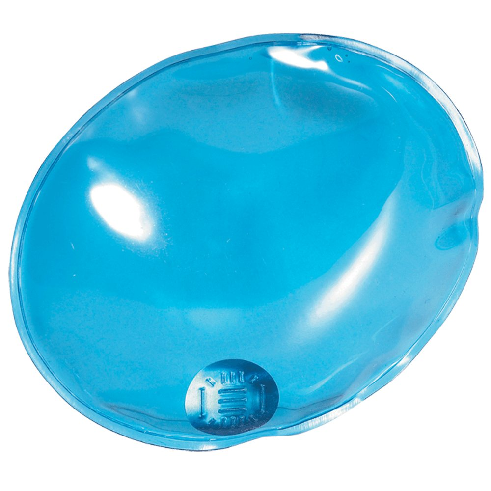 eBuyGB Reusable Gel Hand Warmer/Heat Pack - Instant Heating (Blue Oval)