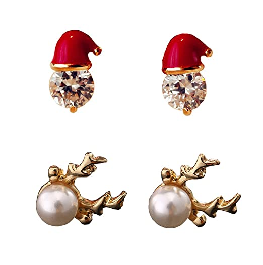 Hosaire 1 Paar Damen Ohrringe Kreative Verdrehen Legierung mit Blau Edelstein Anh/änger Ohrringen Frauen Schmuck Zubeh/ör Ohrh/änger