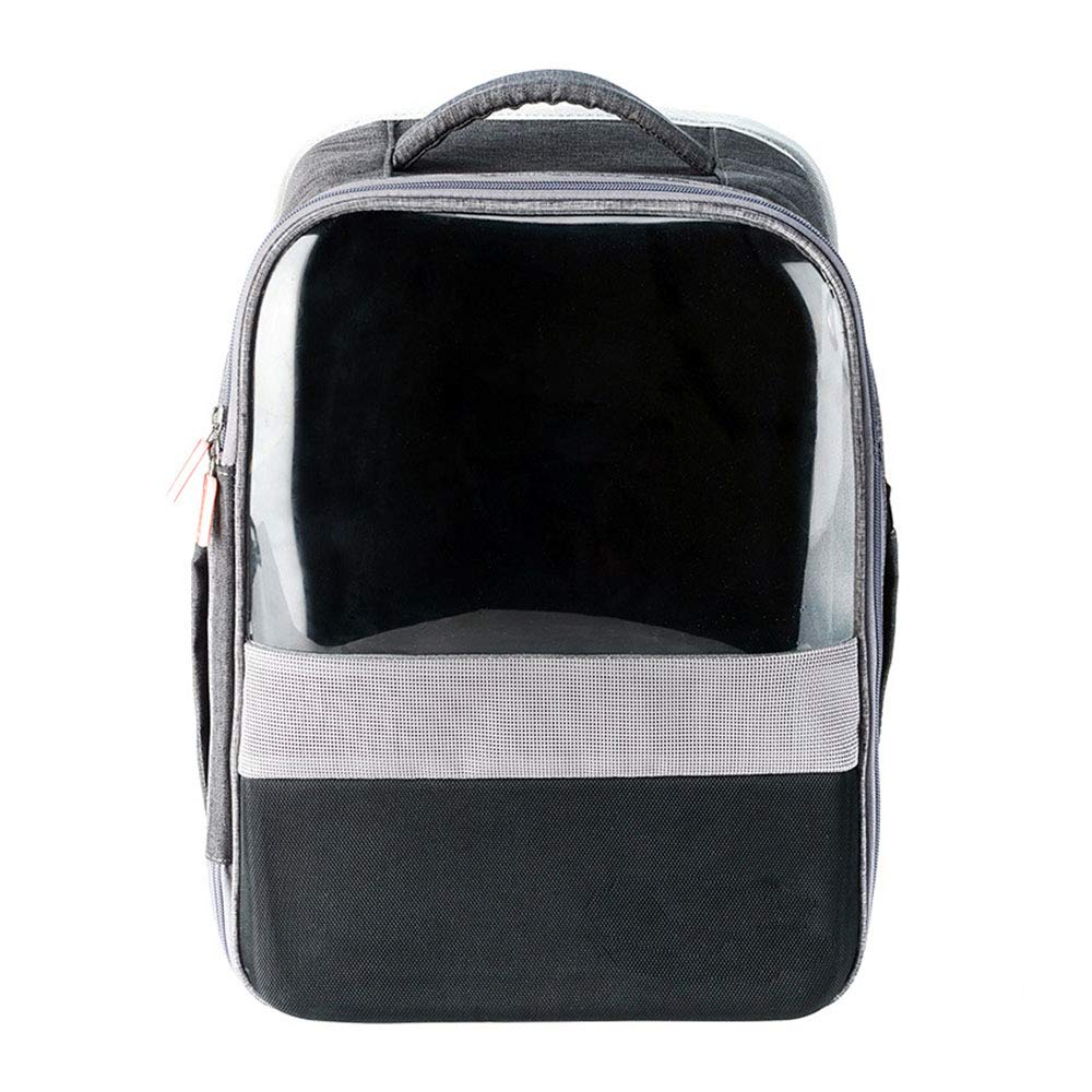 Transparent Pet Backpack Waterproof Operation Cat Bag Portable Splicing Bag Comfortable Breathable Wear Antibacterial World Is Very Beautiful to Take It to See