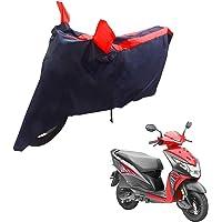 Mototrance Sporty Arc Blue Red Bike Body Cover for Honda Dio