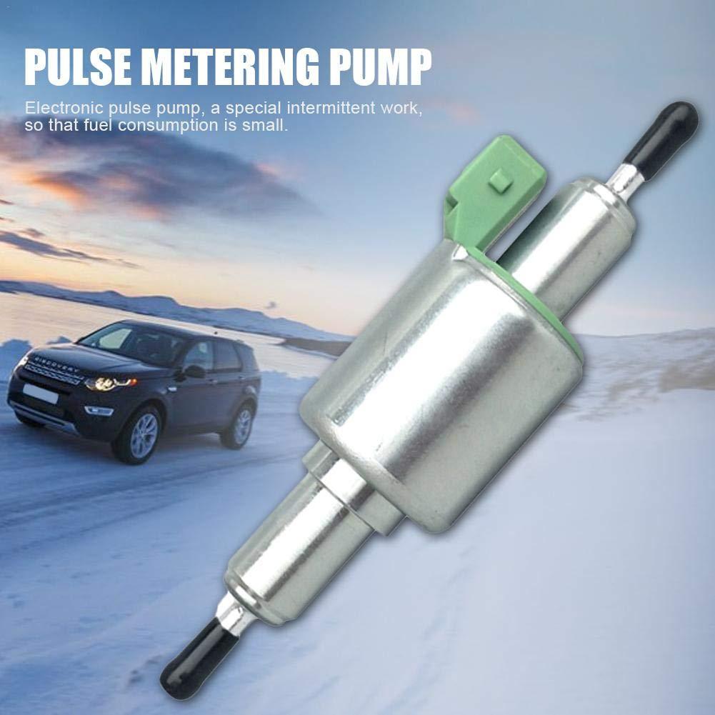 Mississ Pompa del riscaldatore 12V Pompa del riscaldatore di parcheggio per Webasto Eberspacher Pompa del Carburante Olio del riscaldatore per riscaldatore di parcheggio dellAria 24V