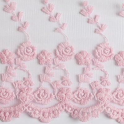 15 m Cinta de encaje apliques costura Craft mujeres vestido Making DIY 10 cm: Amazon.es: Hogar