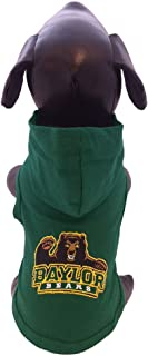 product image for NCAA Baylor Bears Collegiate Cotton Hooded Dog Shirt (Small)