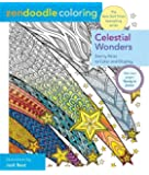 Zendoodle Coloring: Celestial Wonders: Starry Skies to Color and Display