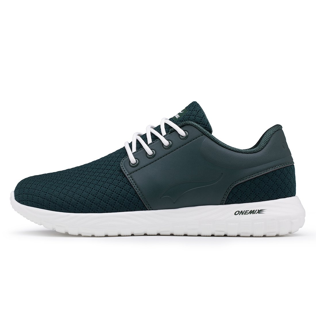 ONEMIX Lightweight Running Shoes - Men's Breathable Casual Sports Sneakers Mesh Soft Sole Athletic Shoes B07DP1DCSR 8 D(M) US 10.23 inch=EUR41 Dark Green