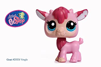 Amazon.es: Littlest Pet Shop, LPS 2533, cabra de color rosa: Juguetes y juegos