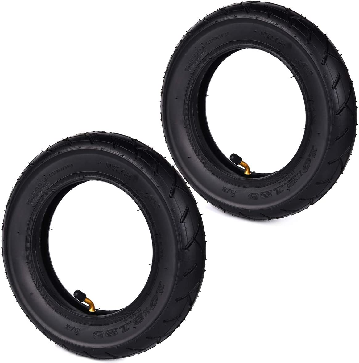 Wingsmoto 10 X 2 125 10 Zoll Reifen Und Schlauch Für 2 Rad Scooter Intelligent Selbstbalancierend 25 4 Cm Einrad 2er Pack Auto