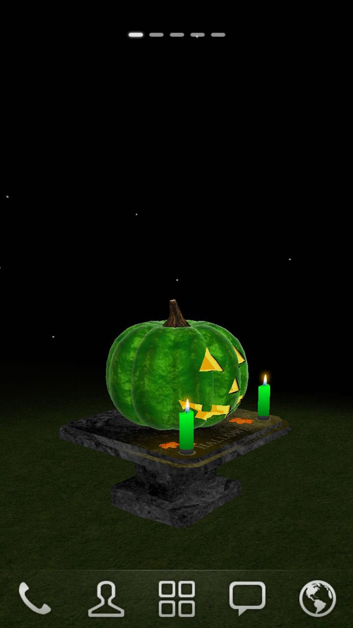 3d halloween pumpkin live wallpaper appstore for 3d kuchenplaner android