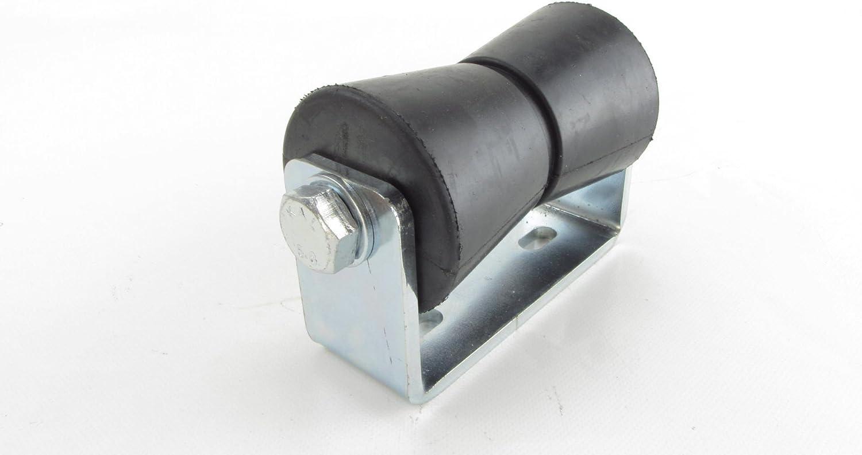 130 mm Kielrolle mit Halter