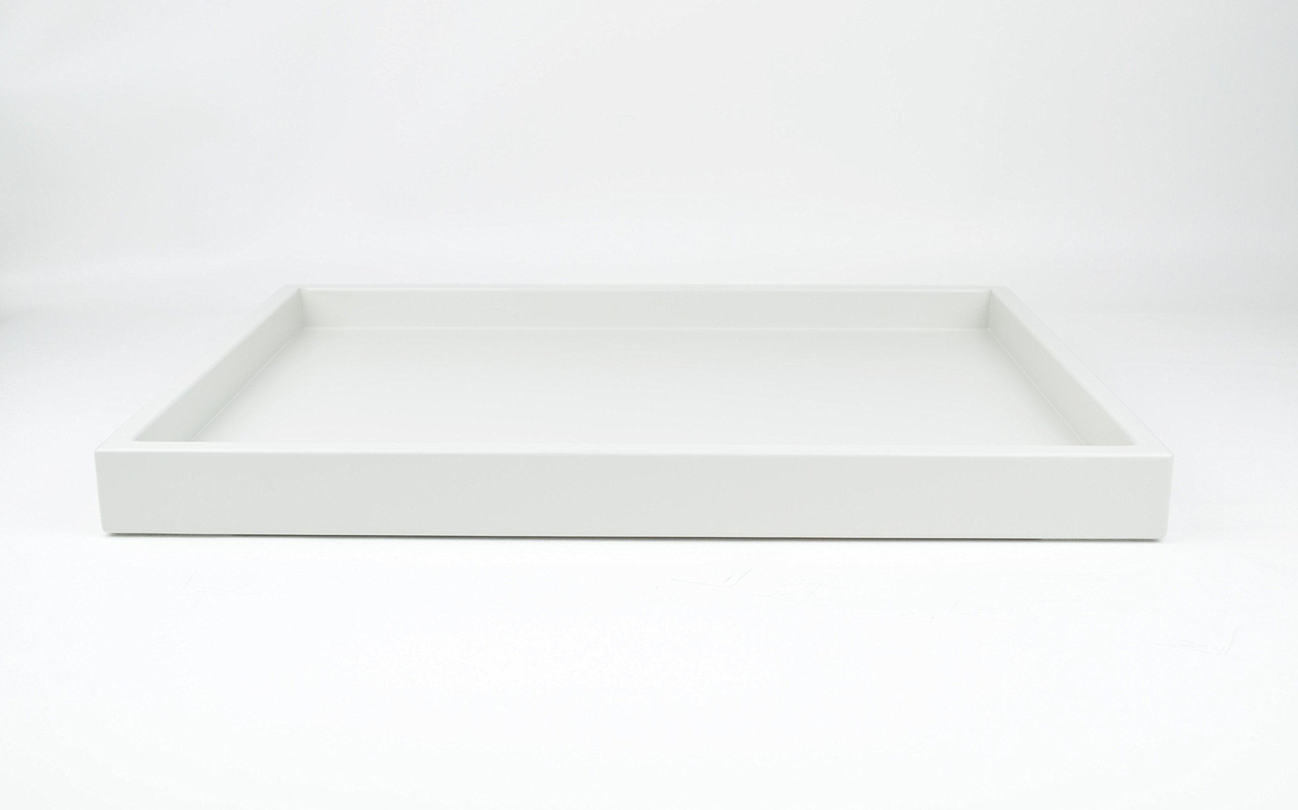 Matte White Tabletop Serving Tray, Hand Made in America by Gleaming Renditions