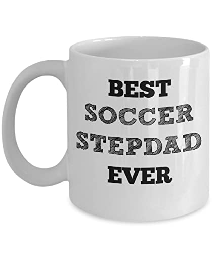 soccer stepdad mug best step dad ever gifts stepfather gift for christmas stocking stuffer